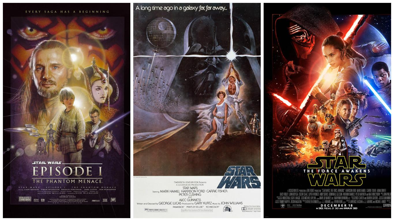 In a Cinema Far, Far Away: Hollywood's 'Star Wars' Films