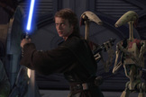 """Anakin Skywalker, destined to become Darth Vader, from """"Star Wars: Episode III – Revenge of the Sith."""""""