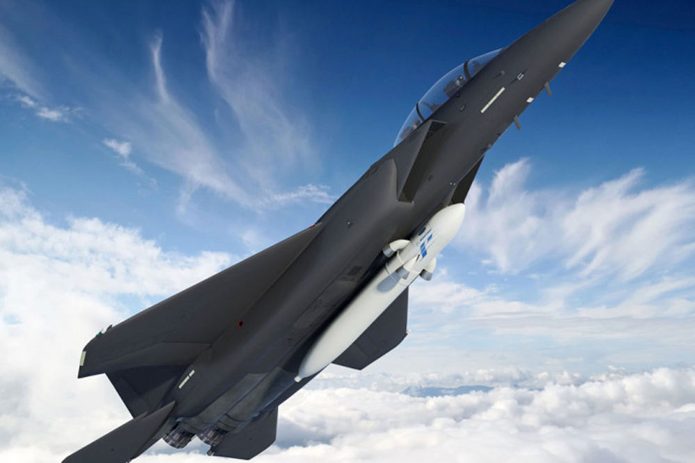 DARPA Scraps Plan To Launch Small Sats from F-15 Fighter Jet