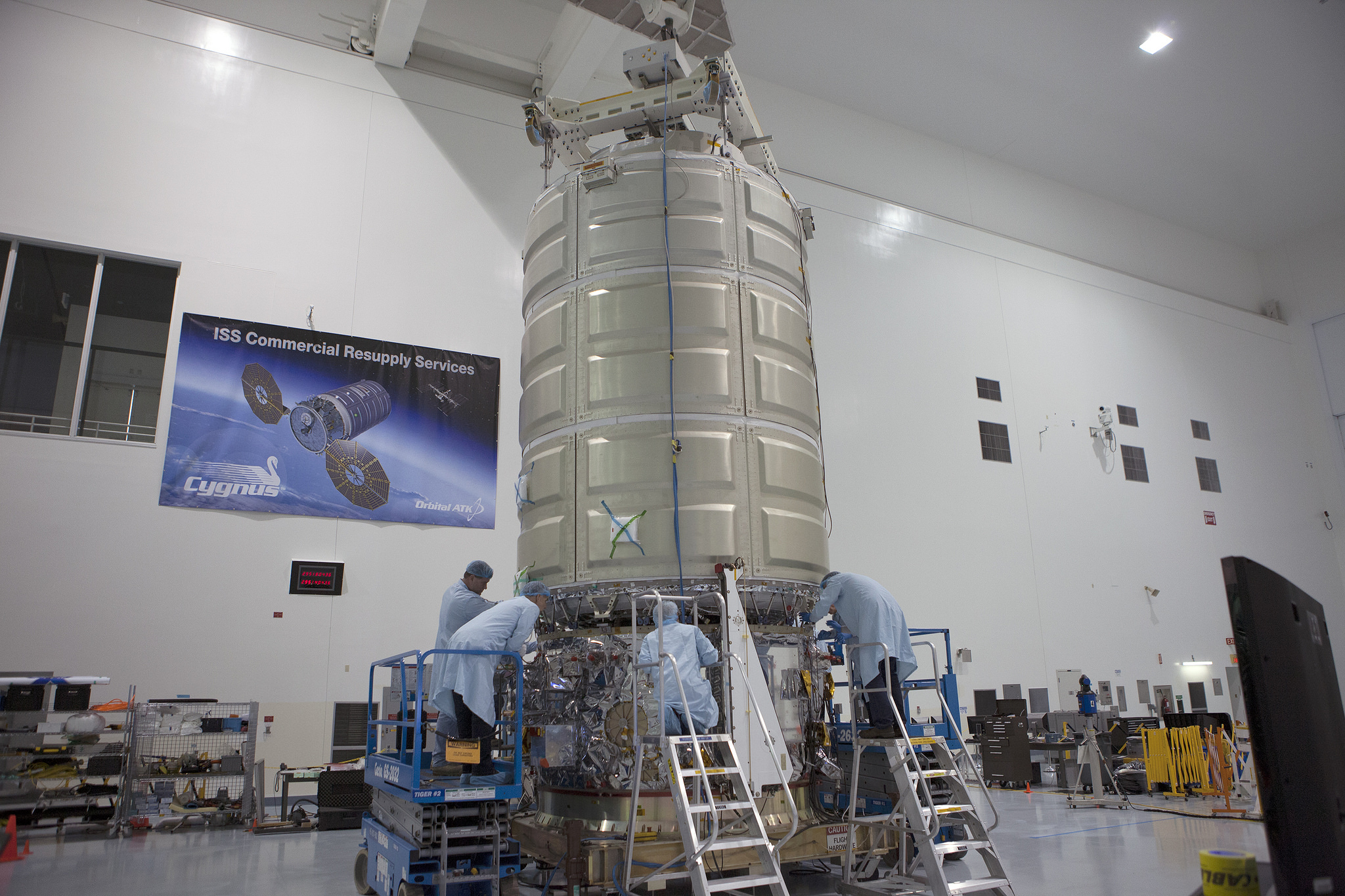 Cygnus's Pressurized Cargo Module