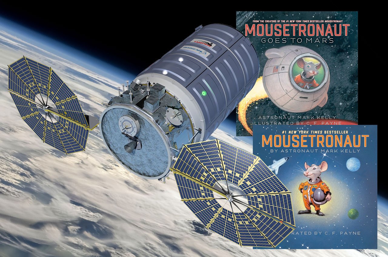 Astronaut's 'Mousetronaut' Stories Among Kids' Books Bound for Space Station