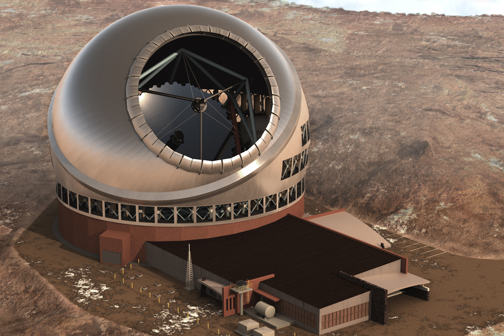 Artist's Illustration of Thirty Meter Telescope