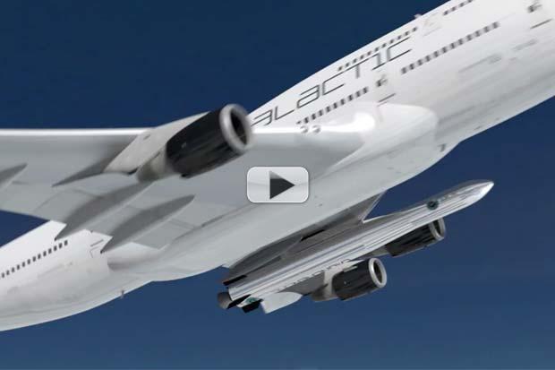 Virgin Galactic's 'Cosmic Girl' Is A Satellite Launching Mothership | Video