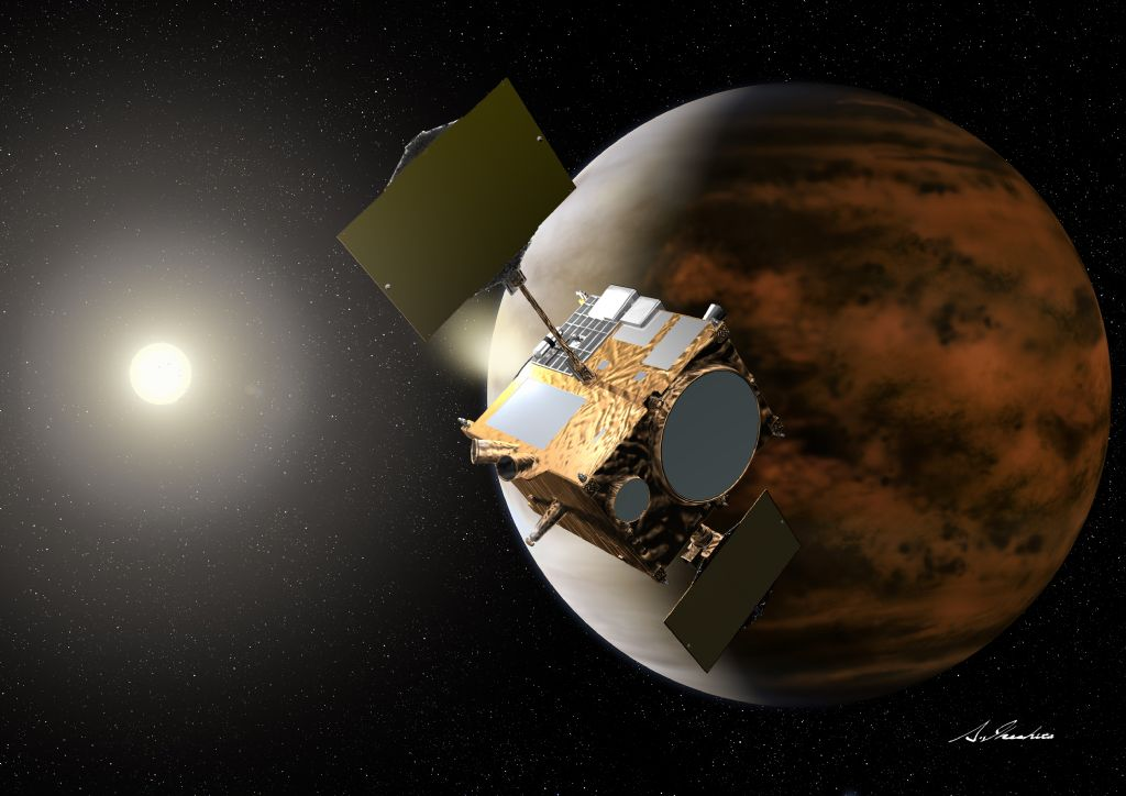 Japanese Spacecraft Gets 2nd Chance at Venus Today
