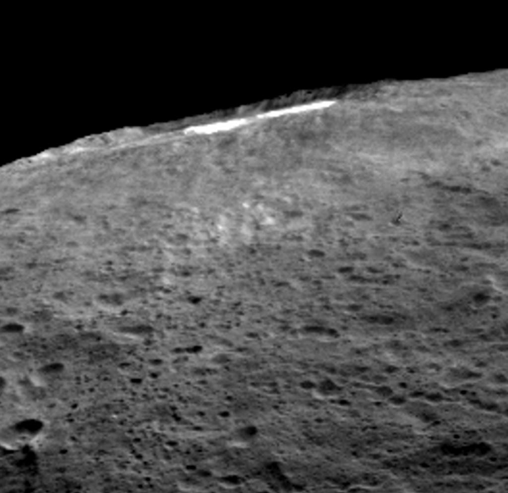 Ceres' Occator Crater Haze