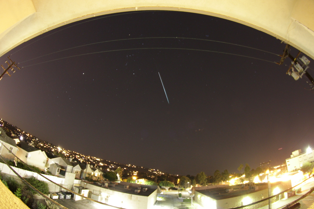 14 de dezembro - Geminid Meteor Shower