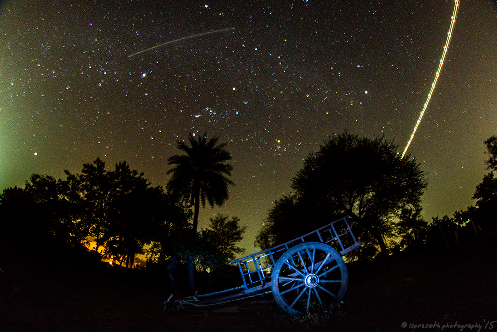 2015 Geminid Meteor Seen in Hyderabad, India