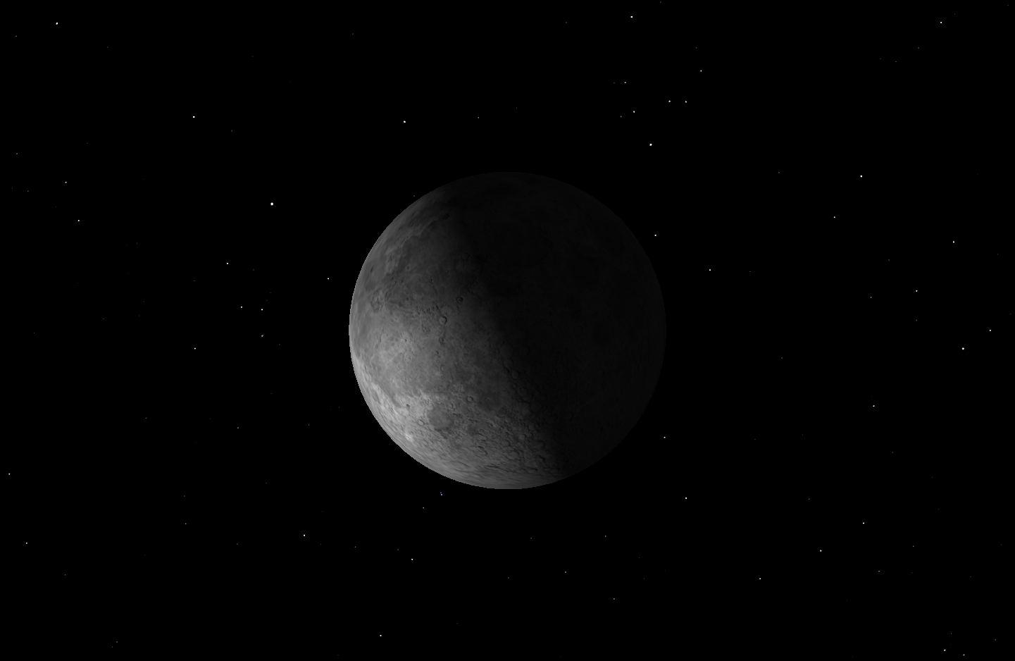 Last Quarter Moon, January 2016