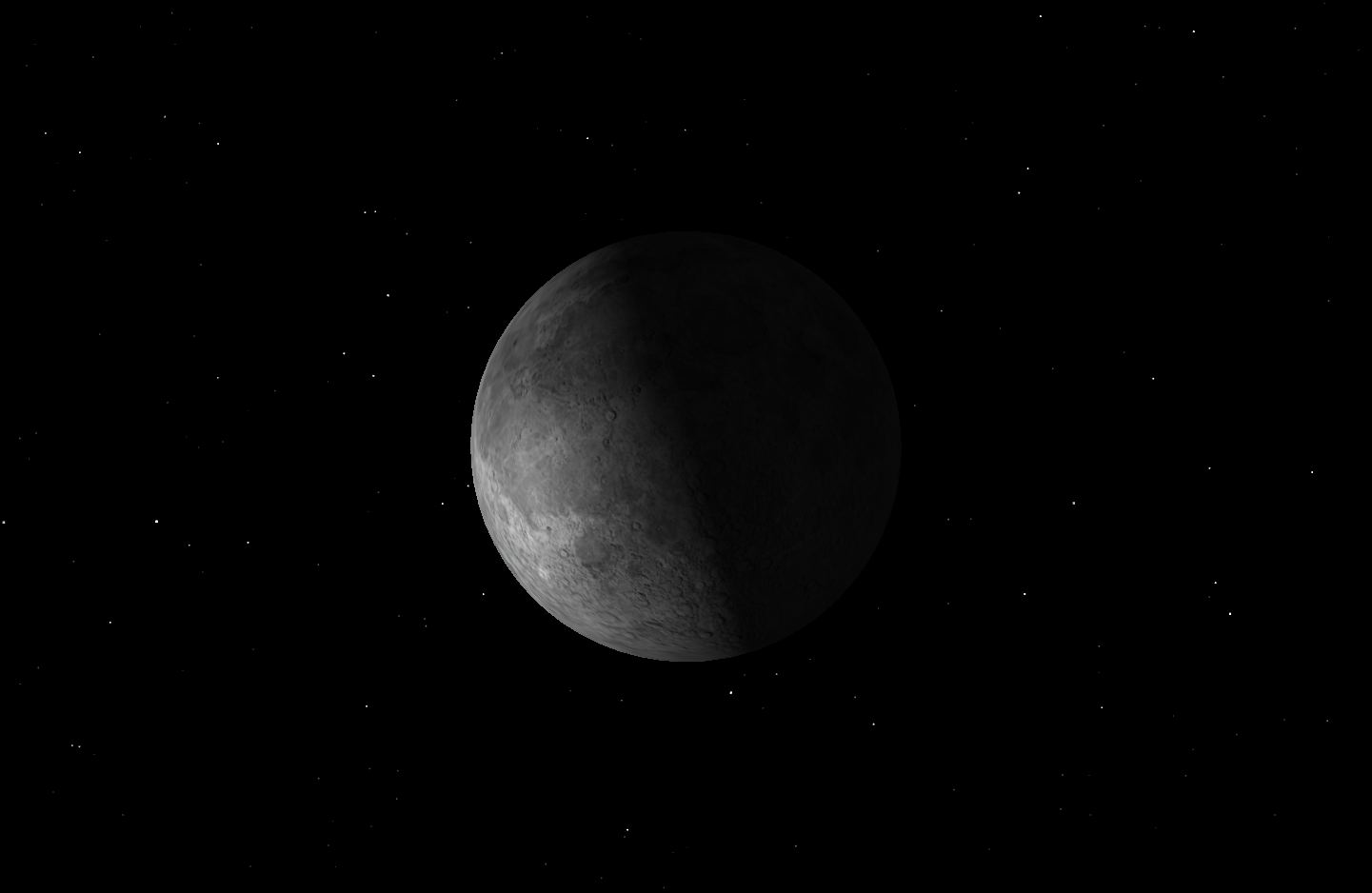 Last Quarter Moon (2nd), January 2016