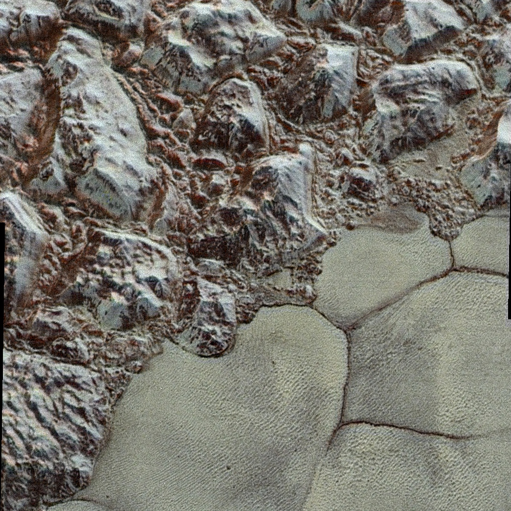 New Colorized Image of Pluto