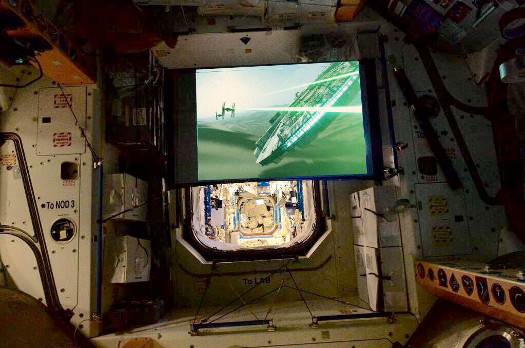 'The Force Awakens' in Space: Astronauts to Watch Star Wars on Station