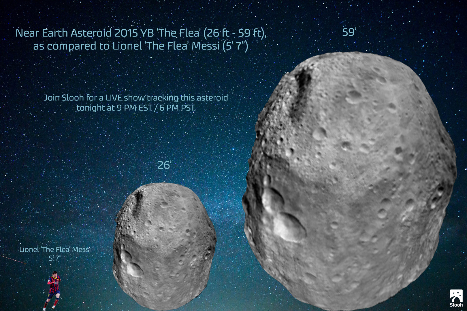 Bus-Size Asteroid 'The Flea' Buzzes Earth