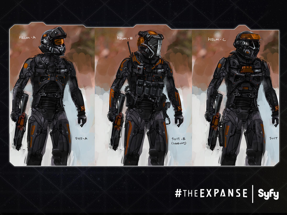 Turning a Sci-Fi Series into a TV Epic: Q&A with 'The Expanse' Authors