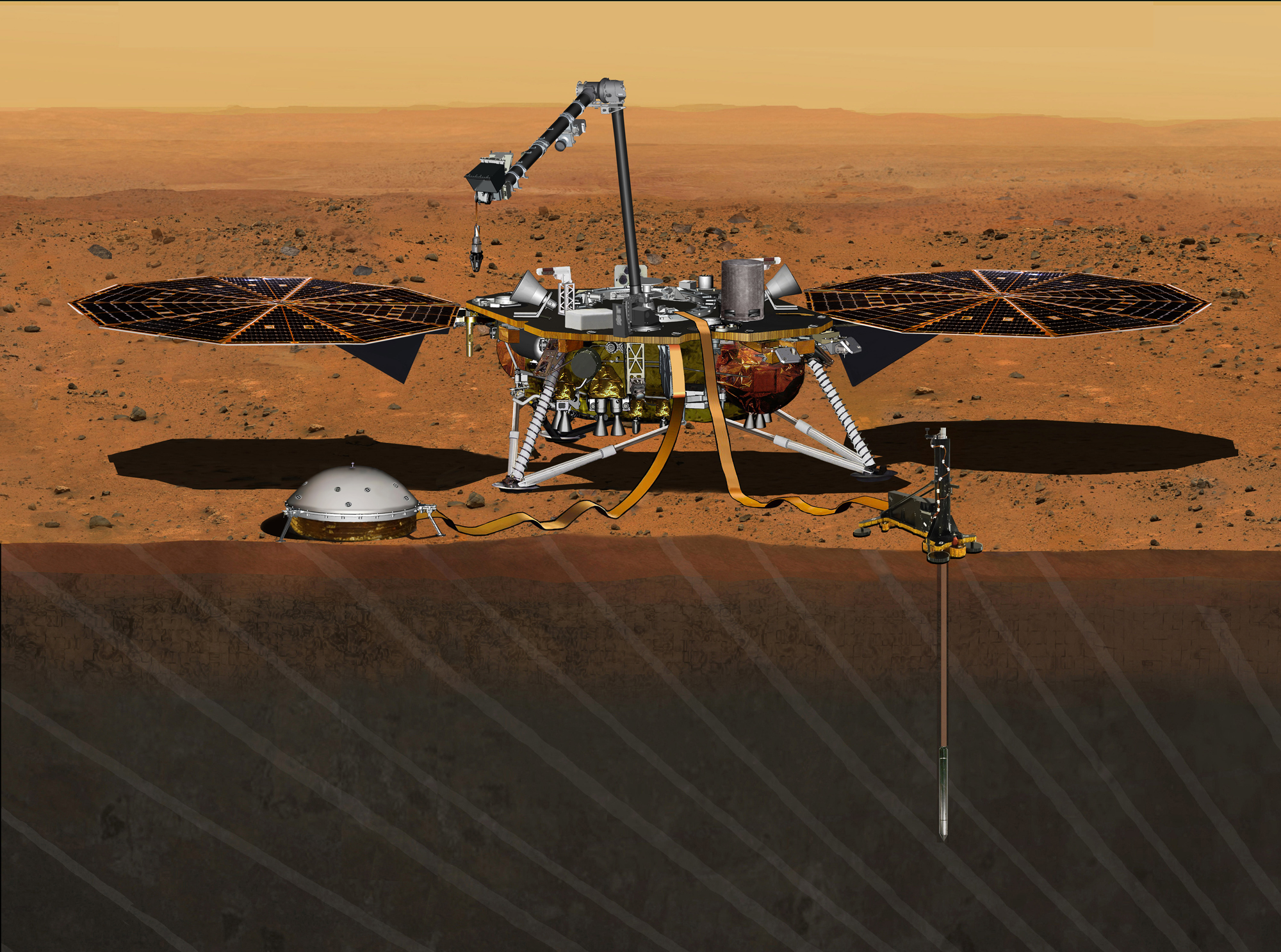 NASA's Next Mars Lander Won't Launch in 2016, Leaky Instrument to Blame