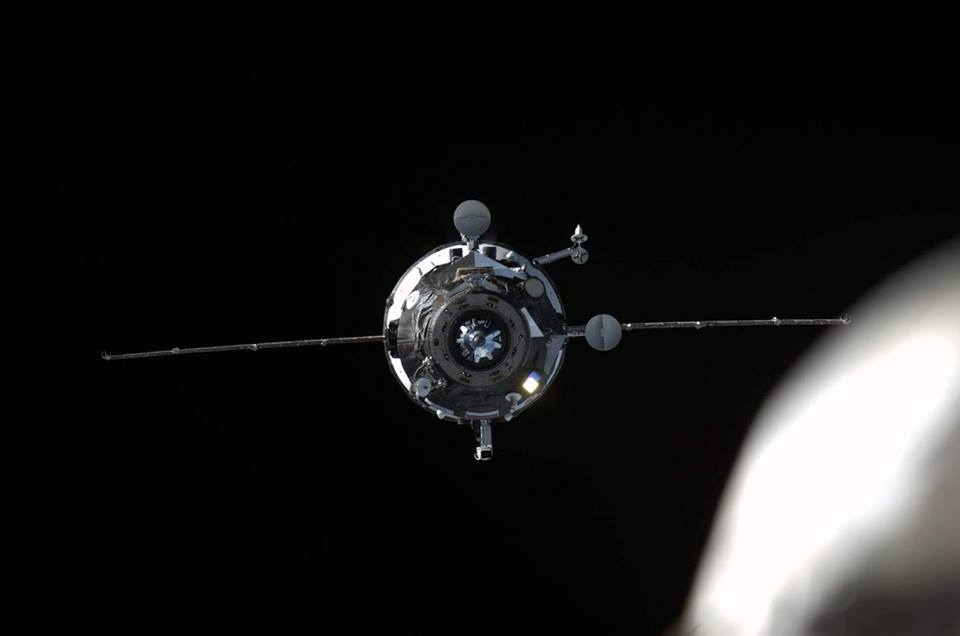 Just In Time for Christmas: Russian Cargo Ship Makes Space Station Delivery