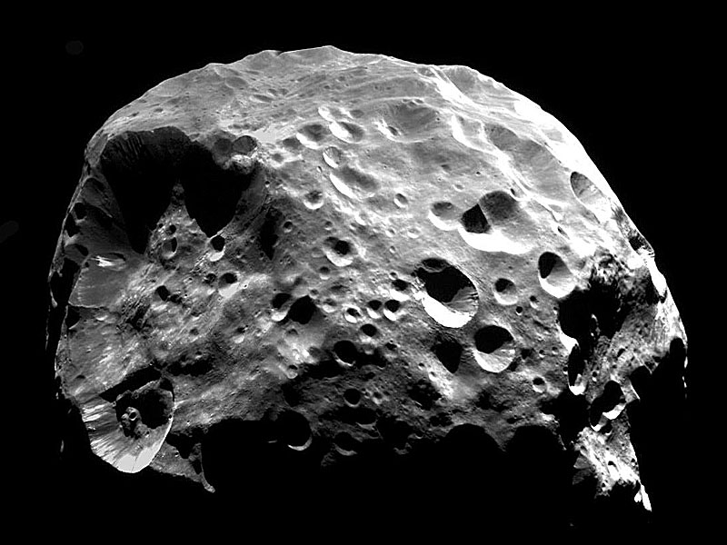 Saturn's moon Phoebe