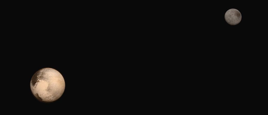 Charon: Pluto's Largest Moon