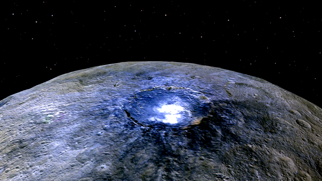 Ceres Occator Crater