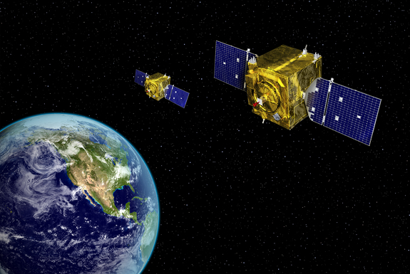 The United States' Geosynchronous Space Situational Awareness Program satellites reside in near-geosynchronous orbit. From that location, they have a clear, unobstructed and distinct vantage point for viewing resident space objects without the interruption of weather or the atmospheric distortion that can limit ground-based systems.