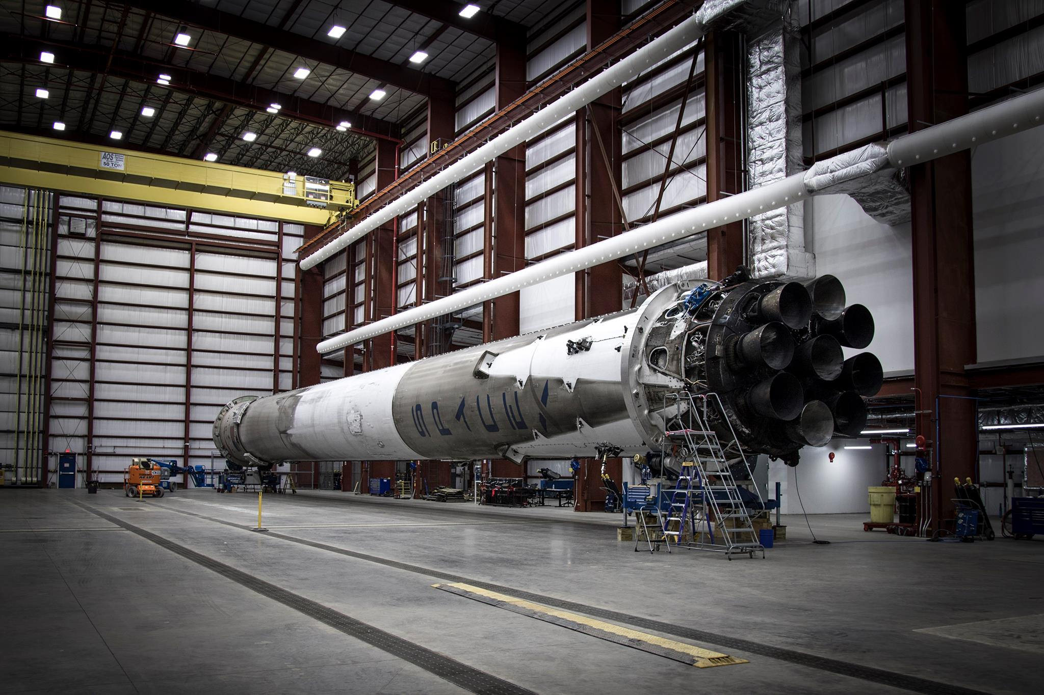 SpaceX Tests Recovered Falcon 9 Stage and Prepares for Next Launch