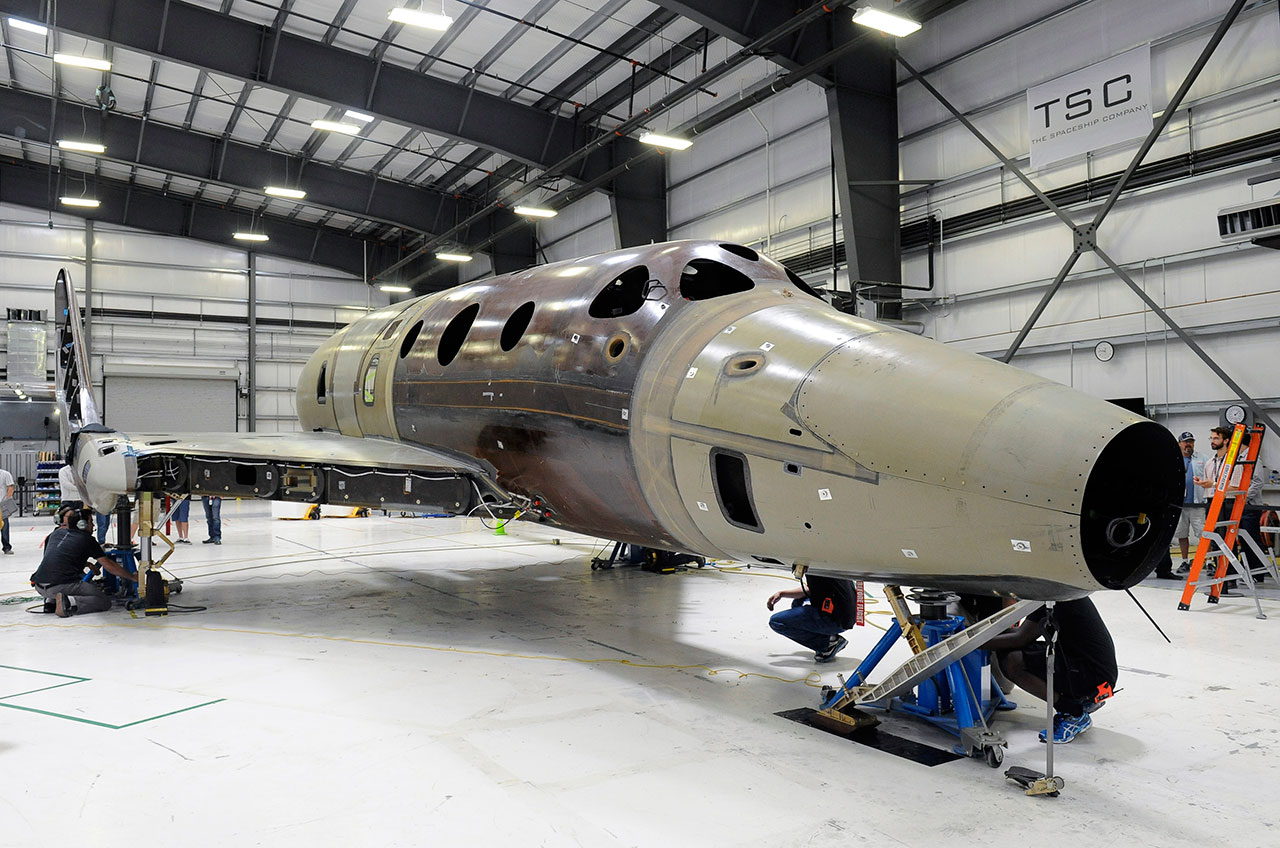 Virgin Galactic's Second SpaceShipTwo to Roll Out on Feb. 19