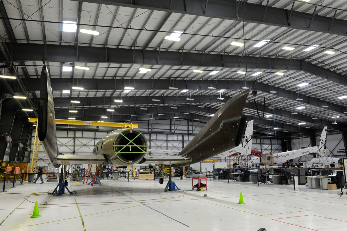Virgin Galactic's Second SpaceShipTwo and WhiteKnightTwo