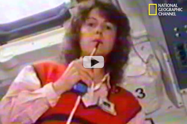 'Challenger Disaster: Lost Tapes' Includes McAuliffe Lesson Plan Rehearsal | Nat Geo Video