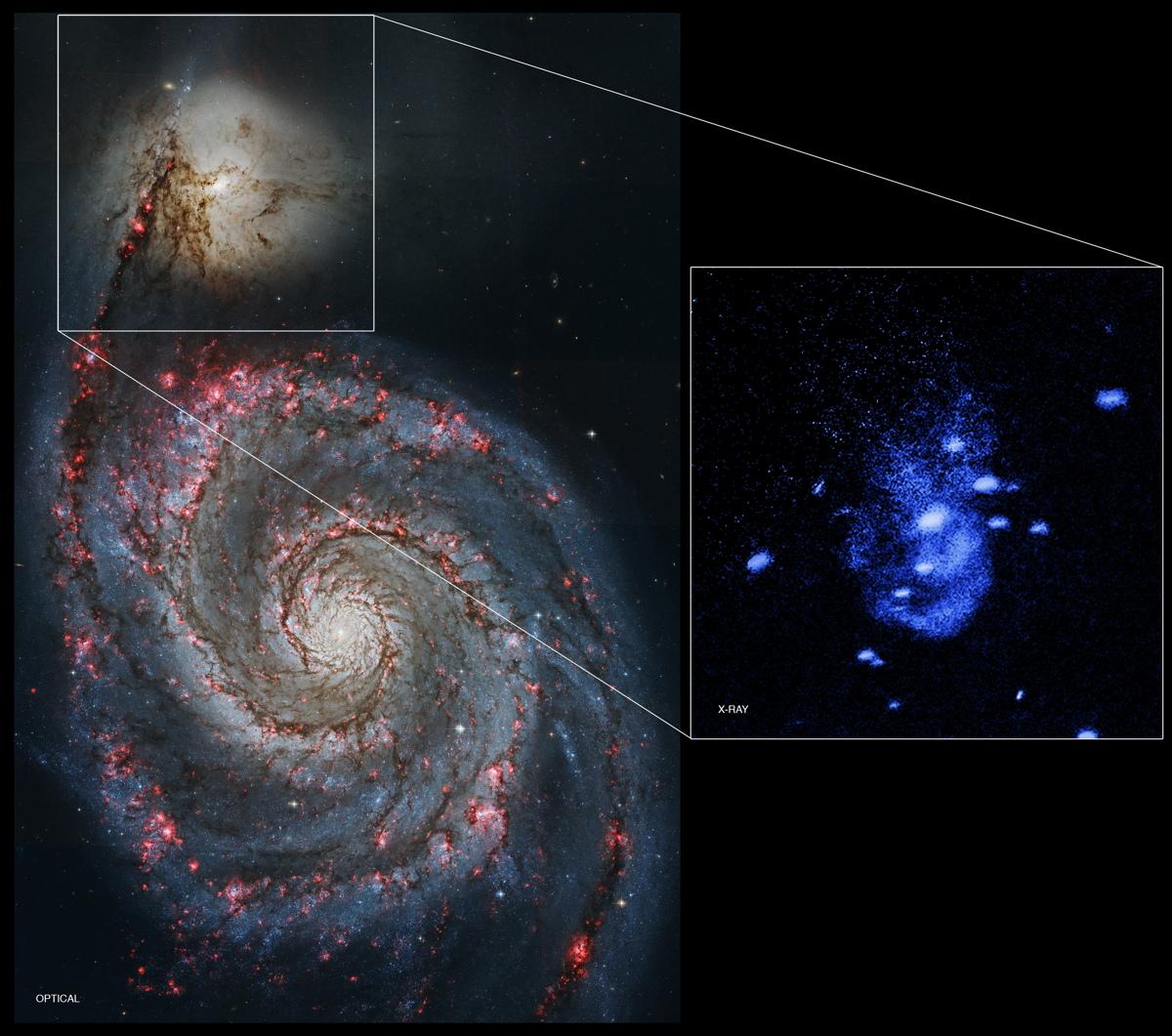 'Burping' Supermassive Black Hole
