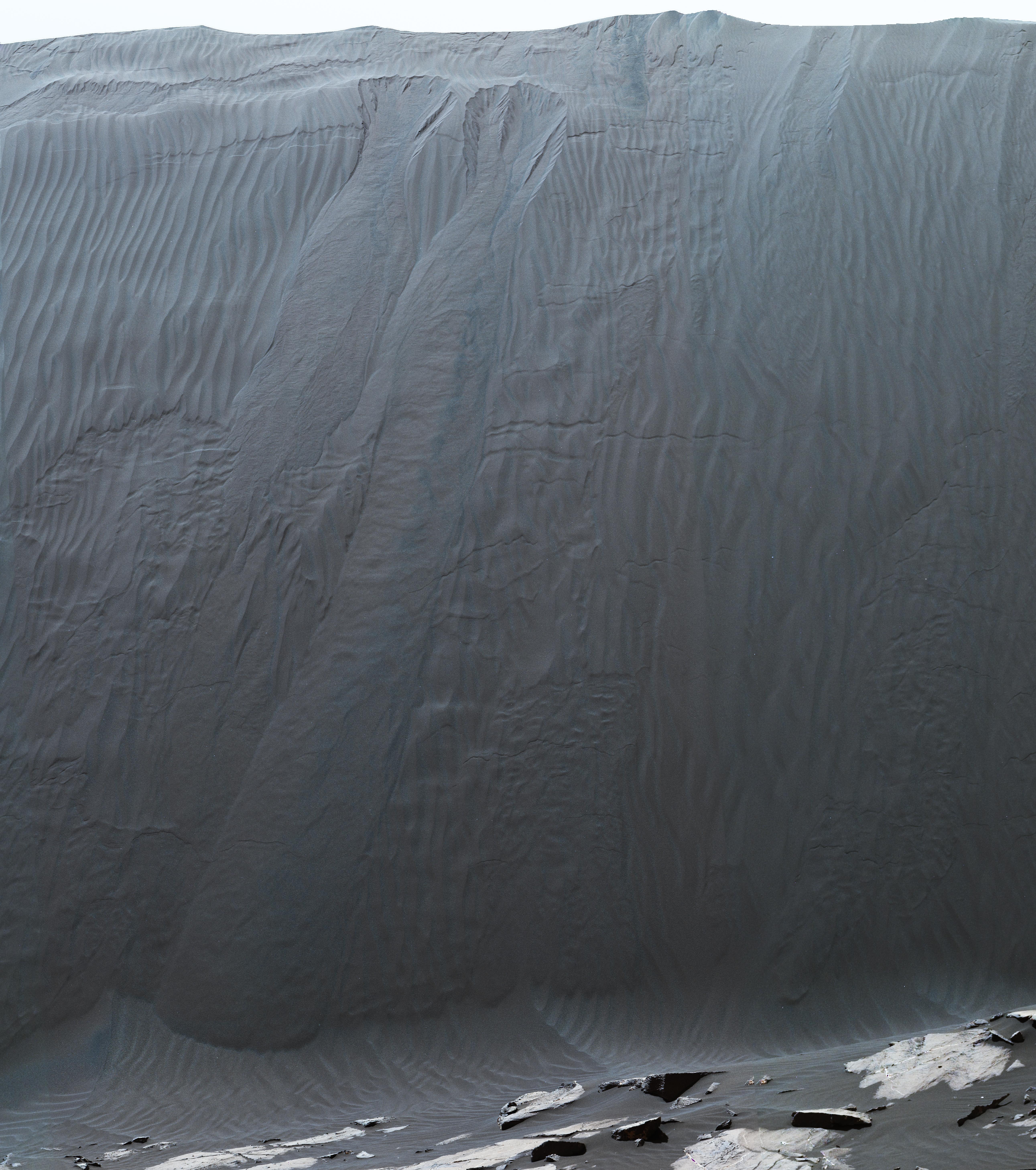 Curiosity Rover Namib Dune