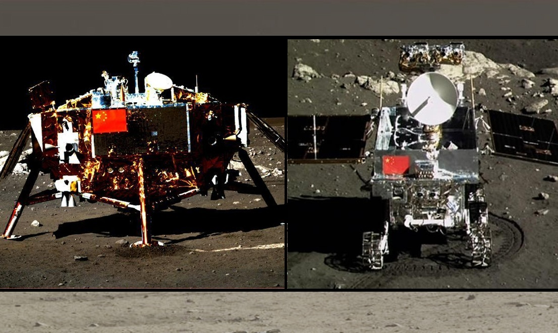 China's Moon Rover Finds New Kind of Lunar Rock