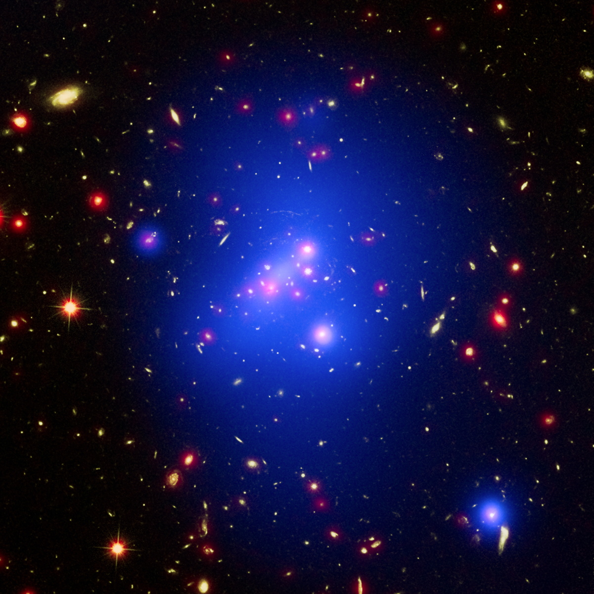 Monster Galaxy Cluster Is Biggest Ever in the Early Universe