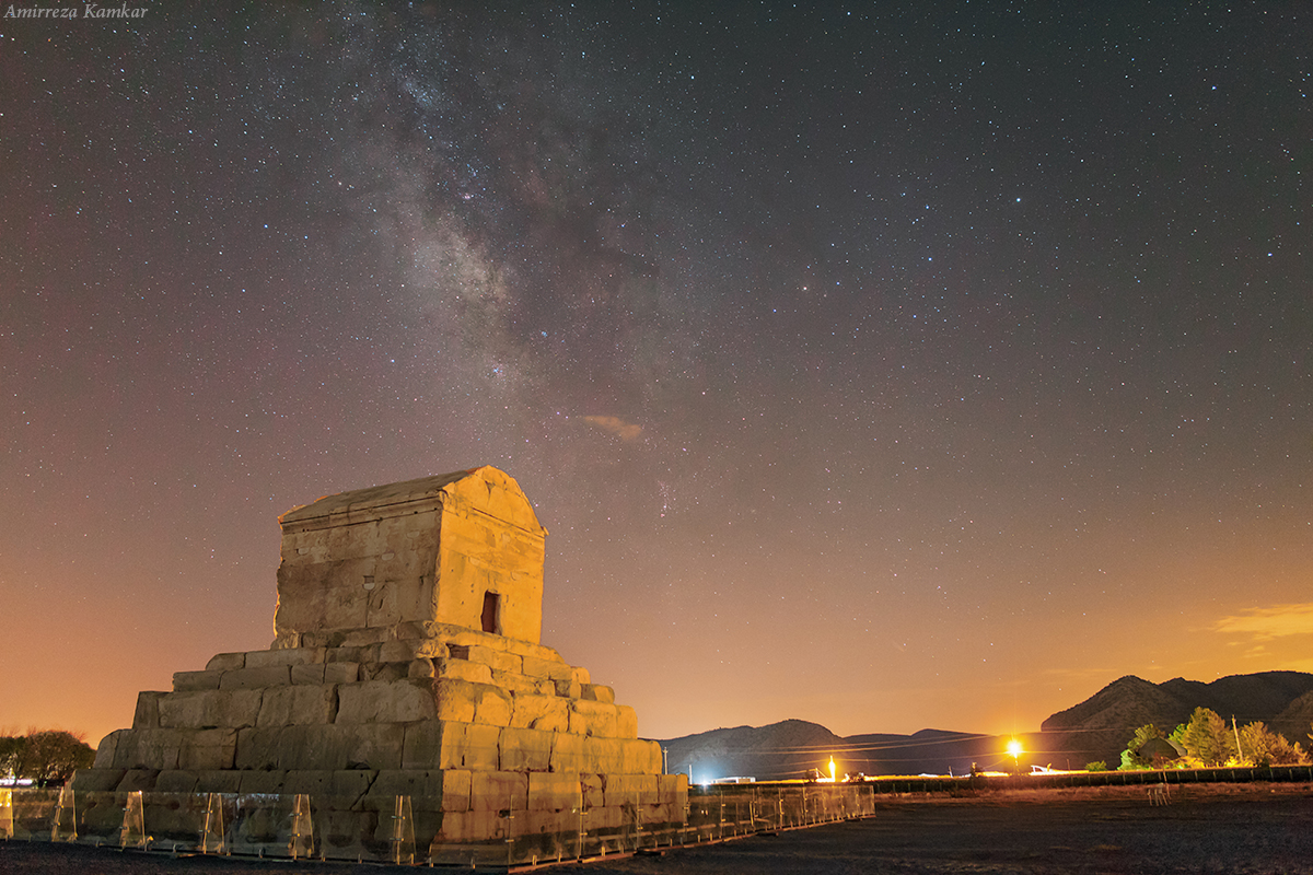 Milky Way Shines Over Iranian Heritage Site in Stunning Image