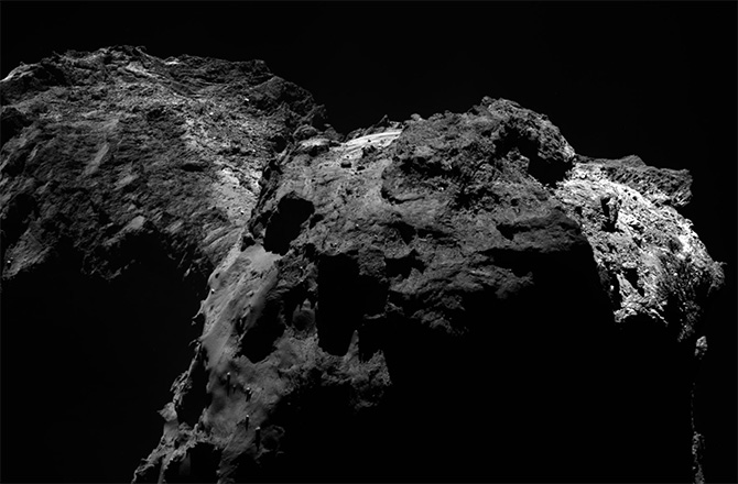 Comet 67P/Churyumov-Gerasimenko on Dec. 15, 2015