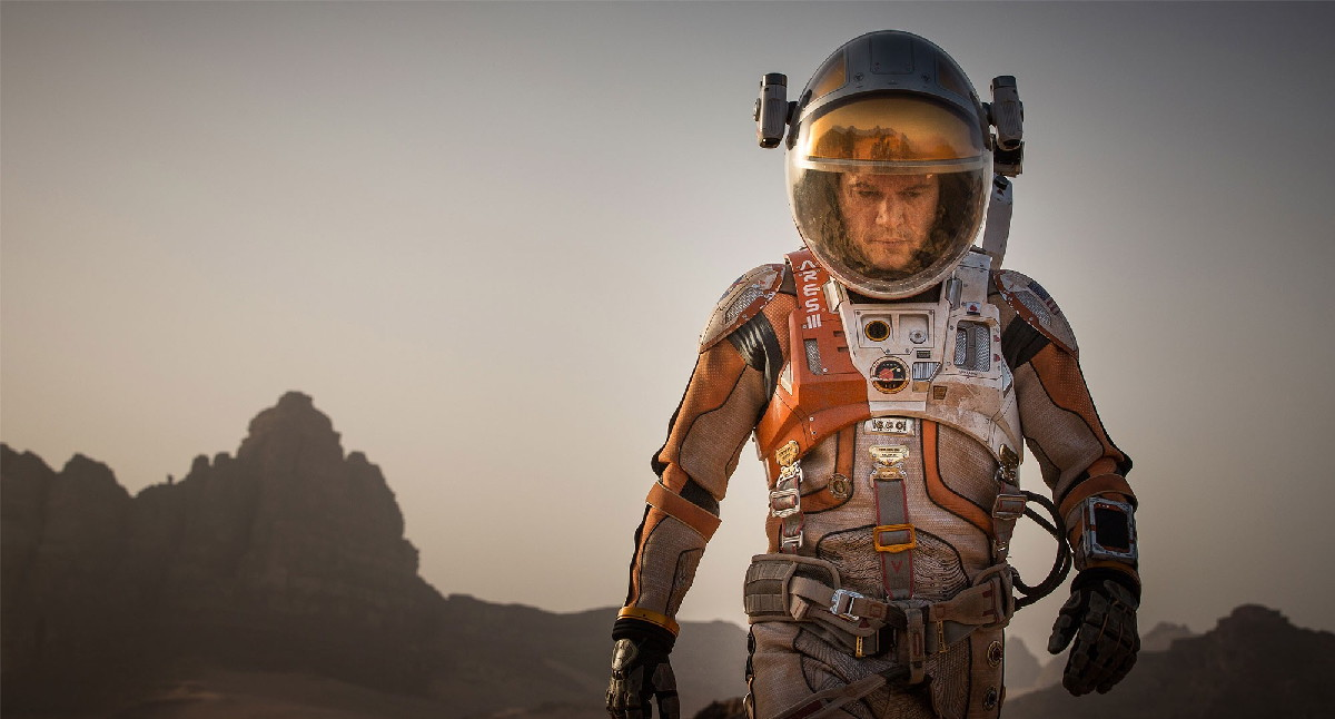 'The Martian' Wins 2 Golden Globe Awards