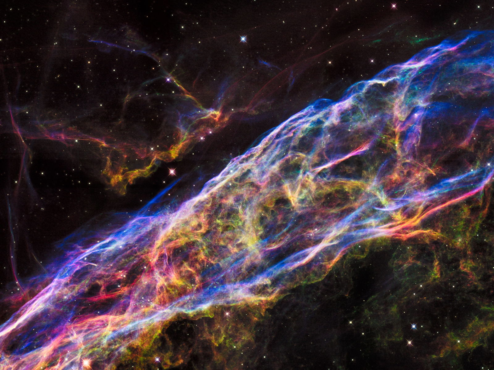 Veil Nebula: Supernova Remnant | Space Wallpaper