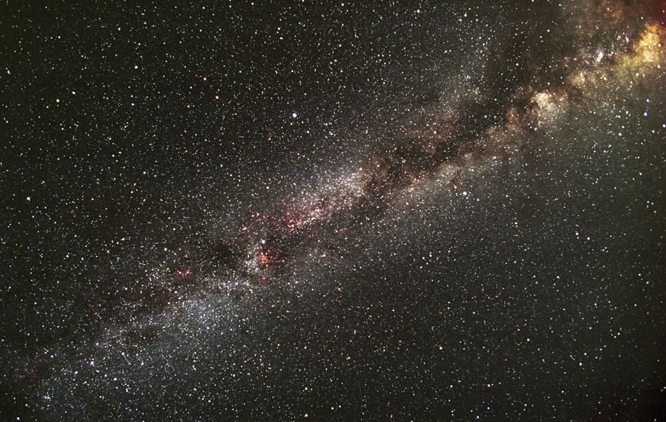 Portion of the Milky Way Galaxy