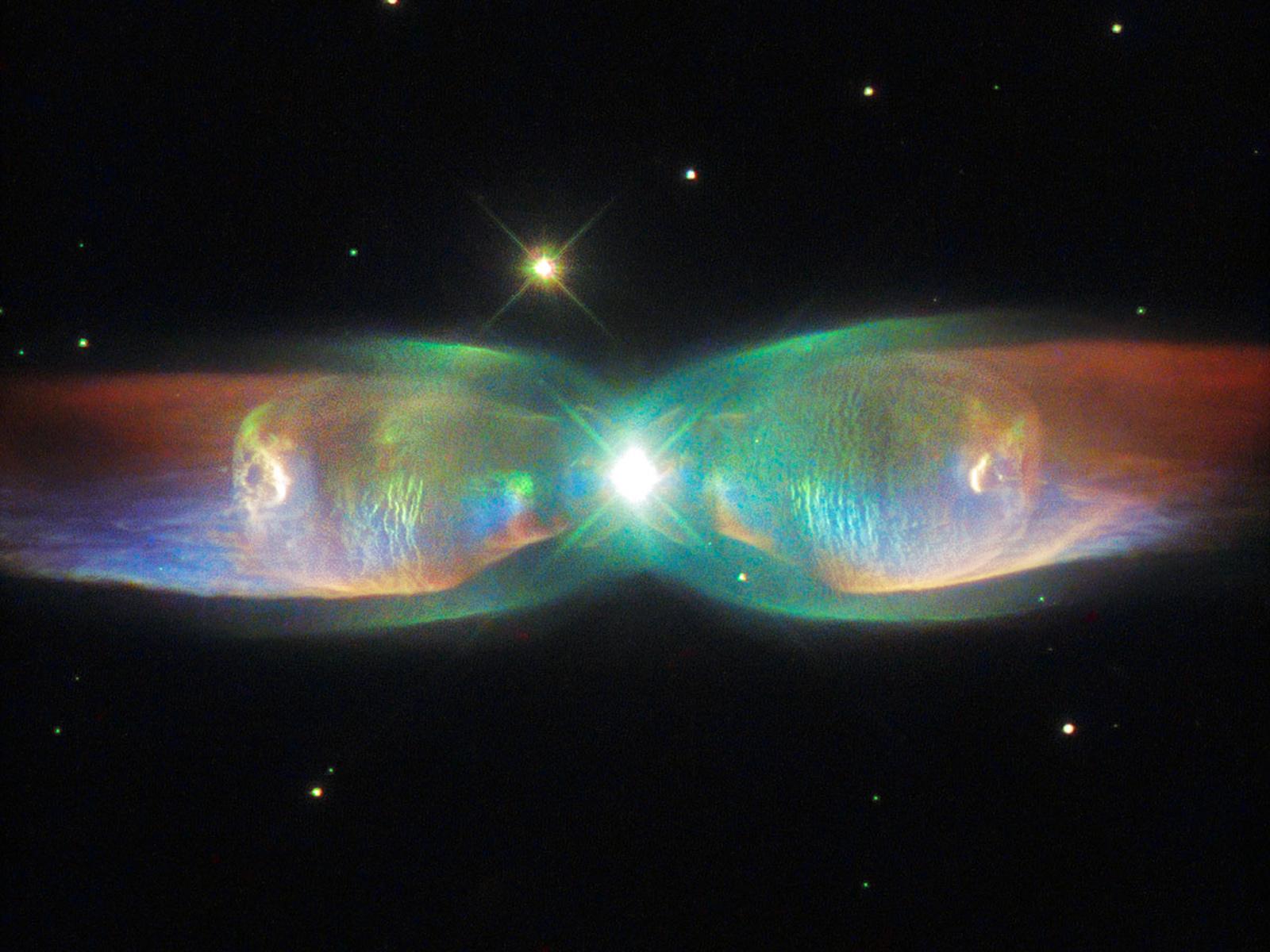 Twin Jet Nebula: The Cosmic Butterfly | Space Wallpaper