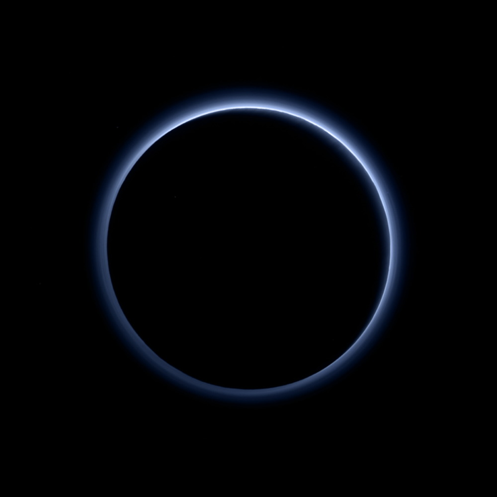 Occultation of Pluto