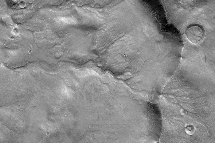 This Is an Ancient Meandering River ... On Mars