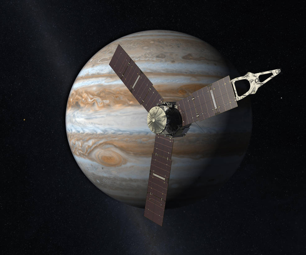 NASA Jupiter Probe Sets Distance Record for Solar-Powered Spacecraft