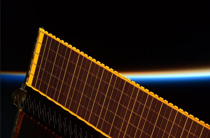 ESA Astronaut Tim Peake Sunrise Strkes ISS