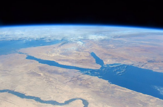 ESA Astronaut Tim Peake Sees a View of the Nile