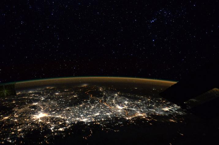 ESA Astronaut Tim Peake Spots the Orion Constellation