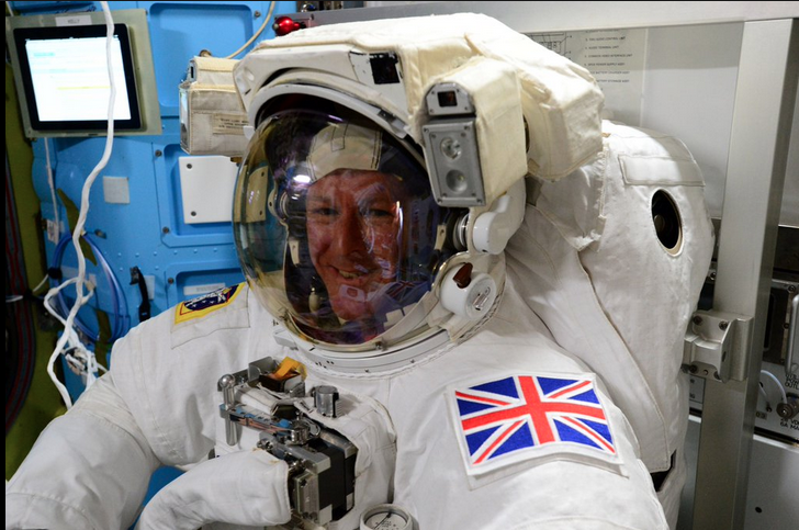 ESA Astronaut Tim Peake In Fit Check