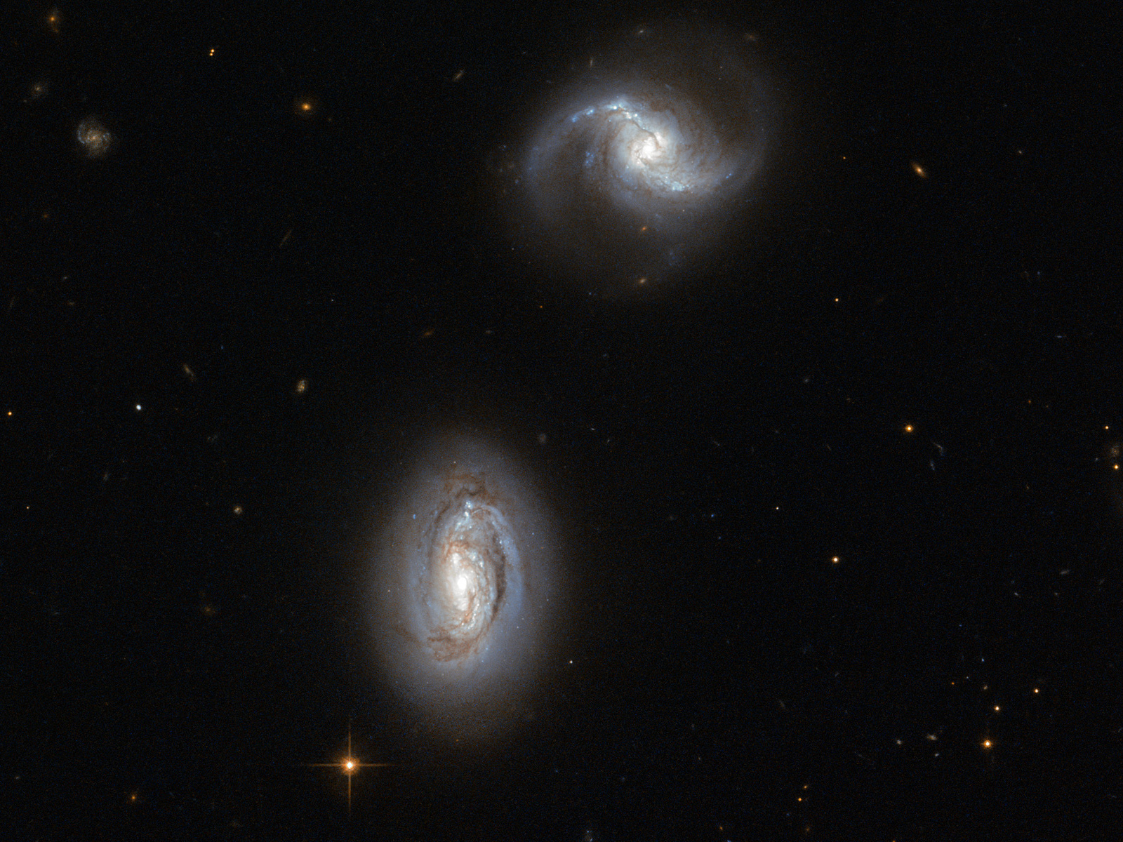 Bosom Buddies: A Galactic Pair