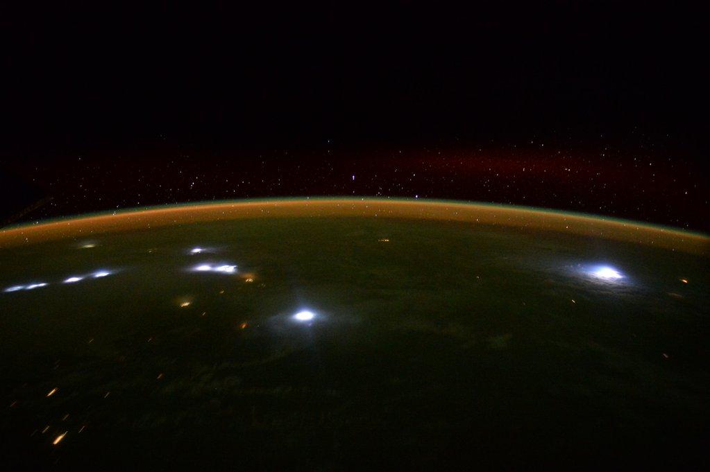 Lightning Over South Africa