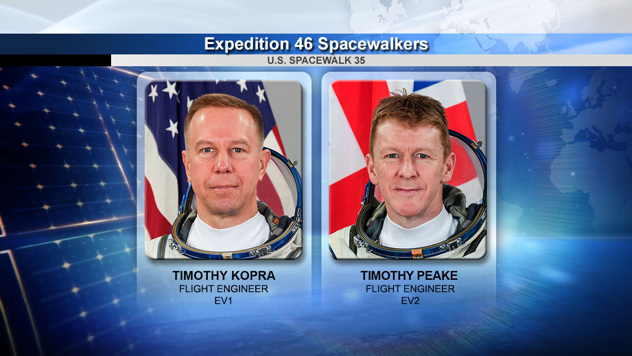 'Team Tim' Makes Spacewalk Friday Morning: How to Watch Live