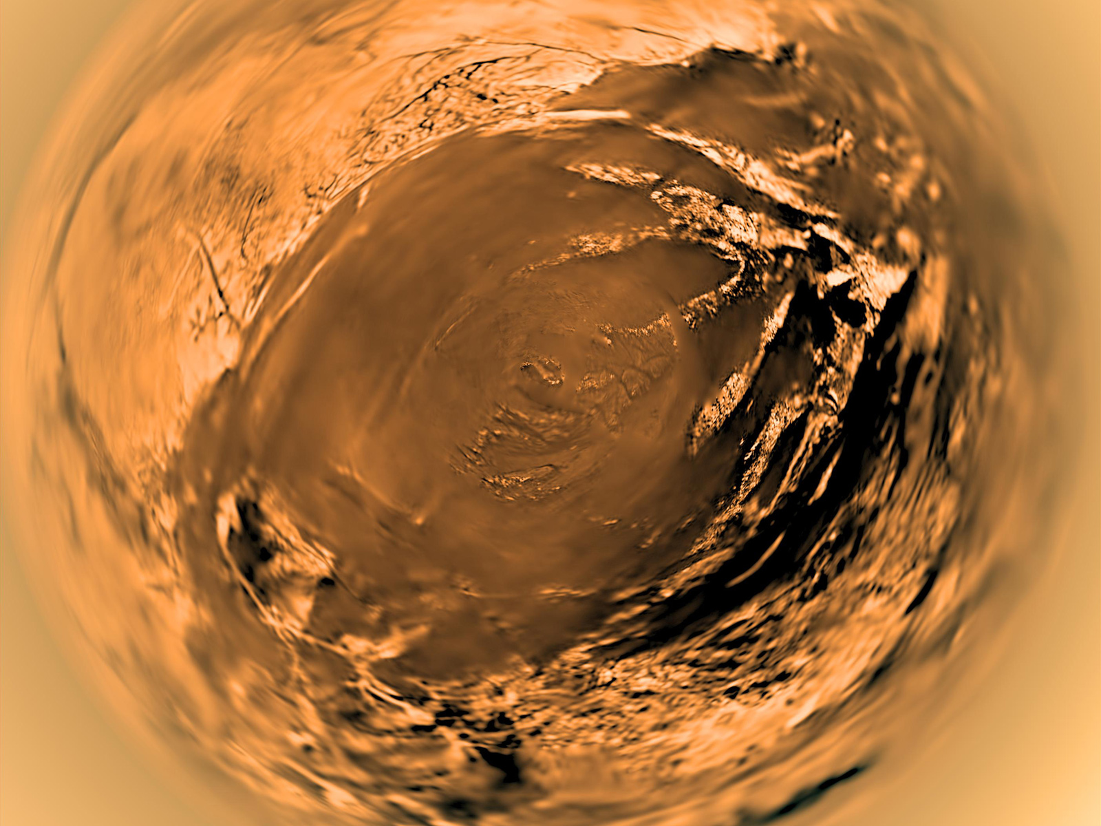 Titan from Huygens