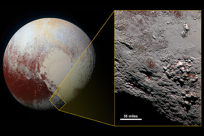 A 'Wright Mons-ter': Pluto's Ice Volcano Is Huge
