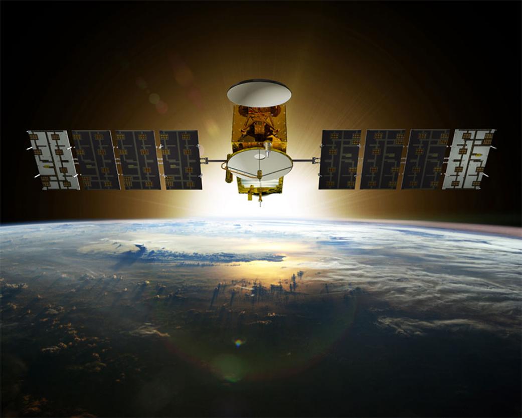 Jason 3 Satellite Illustration